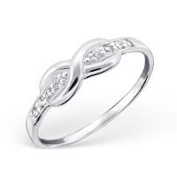 OLIVIE Stříbrný prsten NEKONEČNO 0673 Velikost prstenů: 8 (EU: 57 - 58)