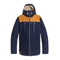 Quiksilver FAIRBANKS NAVY BLAZER zimní bunda pánská - XL