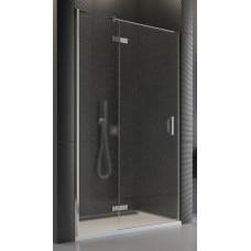 SanSwiss PU13PG 090 10 44 Sprchové dveře jednodílné 90 cm levé, chrom/cristal perly