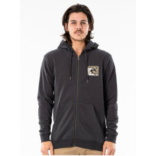 Rip Curl ICON CUT OUT washed black pánská mikina - L