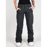 Burton SOCIETY TALL TRUE BLACK HEATHER zateplené kalhoty dámské - XL