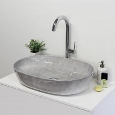 Aquatek GLORY keramické umyvadlo 61x42,5x13,5 cm