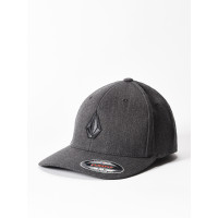 Volcom Full Stone Xfit DARK CHARCOAL baseball čepice - L/XL