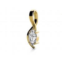 Zlato Zlatý dámský přívěsek Stella 6820220