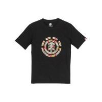 Element ORIGINS ICON FLINT BLACK pánské tričko s krátkým rukávem - M