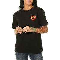 Santa Cruz Classic Dot black dámské tričko s krátkým rukávem - L