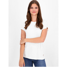 Alife and Kickin MimmyAK A white dámské tričko s krátkým rukávem - S