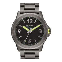 Nixon CARDIFF 43 ALLGUNMETAL pánské hodinky analogové