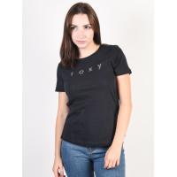 Roxy RED SUNSET TRUE BLACK dámské tričko s krátkým rukávem - XXS