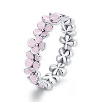 OLIVIE Stříbrný prsten RŮŽOVÉ KVĚTY 4558 Velikost prstenů: 7 (EU: 54 - 56)