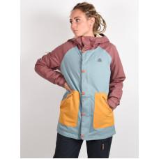 Burton EASTFALL RSBRWN/TRLLIS/HVSTGD zimní bunda dámská - XS