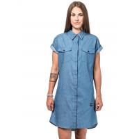 Horsefeathers KARLEE LIGHT BLUE společenské šaty krátké - L