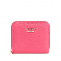 GUESS peněženka Lias Zip-around Wallet hibiscus vel.