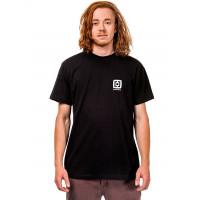 Horsefeathers HANDSHAKE black pánské tričko s krátkým rukávem - S
