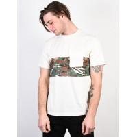 Element MAWII BONE WHITE pánské tričko s krátkým rukávem - M