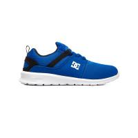 Dc HEATHROW BLACK/BLUE dětské letní boty - 38EUR