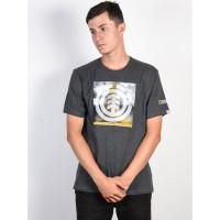 Element COMBUST ICON CHARCOAL HEATHE pánské tričko s krátkým rukávem - M
