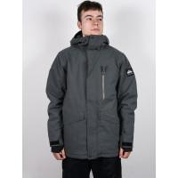 Quiksilver MISSION BLACK HEATHER zimní bunda pánská - XL