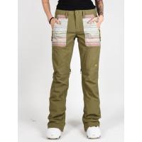 Burton VIDA MARTINI OLIVE zateplené kalhoty dámské - S
