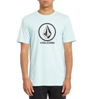Volcom Crisp Stone Bsc Resin Blue pánské tričko s krátkým rukávem - M
