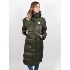 Element DULCEY PUFF LONG forest night zimní bunda dámská - M