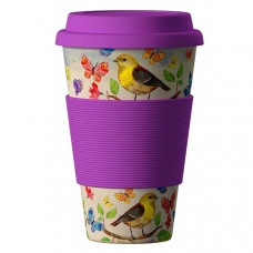 Bamboo Cup Ekologický termohrnek Birds 0,4l