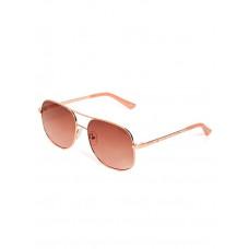 GUESS brýle Rose Gold-Tone Metal Navigator Sunglasses vel.