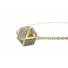 Couple Zlatý dámský náhrdelník 6640033-0-42-1