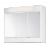 Jokey Plastik SAPHIR Zrcadlová skříňka - bílá, š. 60 cm, v. 51 cm, hl.18 cm 59132-011