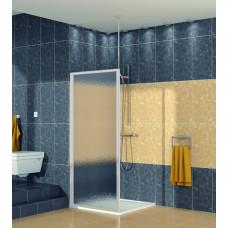 SanSwiss ECOF 0700 01 22 Boční stěna sprchová 70 cm, matný elox/durlux