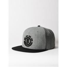 Element KNUTSEN CAP B grey heather pánská kšiltovka
