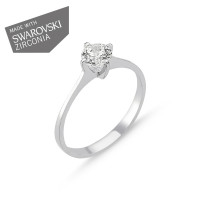 OLIVIE Stříbrný prsten GRETA 1729 Velikost prstenů: 6 (EU: 51 - 53)