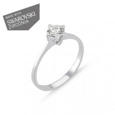 OLIVIE Stříbrný prsten GRETA 1729 Velikost prstenů: 7 (EU: 54 - 56)