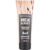 Dermacol Men Agent Sensitive Feeling 3in1 Shower Gel 250ml