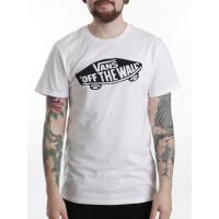 Vans OTW white/black pánské tričko s krátkým rukávem - L