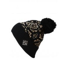Dakine SILVERTON black dámská zimní čepice