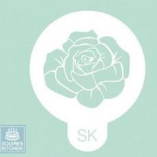 Squires Kitchen Stencil Šablona na zdobení dortů, cukroví, perníčků - Rose