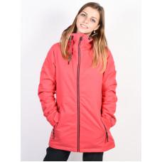 Volcom Act Ins BRIGHT ROSE zimní bunda dámská - XS