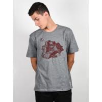 Element RAMPS grey heather pánské tričko s krátkým rukávem - M
