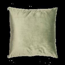 Dekorační polštář světle zelený 50 x 50 cm