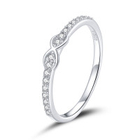 OLIVIE Stříbrný prsten NEKONEČNO 4711 Velikost prstenů: 8 (EU: 57 - 58)