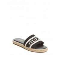 GUESS pantofle Carlita Espadrille Slide Sandals černé vel. 38,5