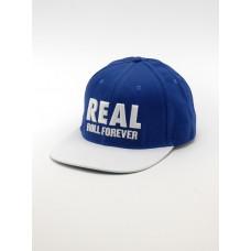 Real GENUINE BLUE/WHT pánská kšiltovka