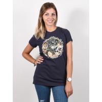 Animal EARTHERN India Ink Blue dámské tričko s krátkým rukávem - 10