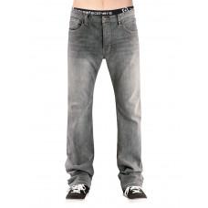 Horsefeathers TRUCK light gray značkové pánské džíny - 26