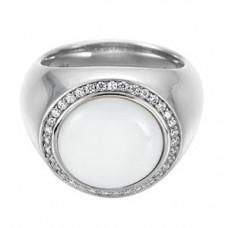 Prsten Esprit ES-Ballroom White ESRG91707A Velikost prstenu: 55