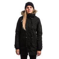 Element CURIOUS FLINT BLACK jarní bunda dámská - XS