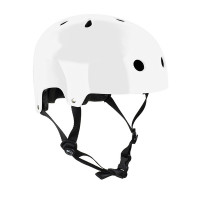 SFR Essentials GLOSS WHITE skate board přilba - XXS/XS