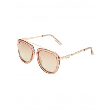 GUESS brýle Round Top-Bar Sunglasses vel.