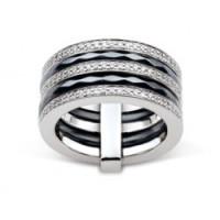 Prsten Ultimate Ceramic ACR085NZ Velikost prstenu: 53